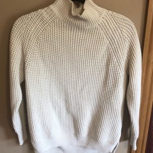 Urban Outfitters BDG mock neck cream sweater